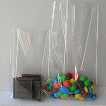 100x Clear Flat Cello/Cellophane Treat Bag 6x8 inch Gift