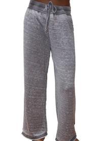 YogaColors Crystal Drawstring Fleece Lounge Yoga Pants