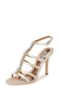 Women's Badgley Mischka 'Elect' Crystal Embellished Sandal,