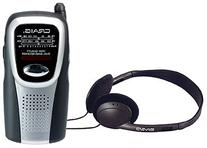 Craig Electronics CS2500 AM/FM Pocket Radio with Speaker and