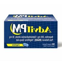 CSC-ST Advil Pm Pain/fever Reducer Tablets Ibuprofen 200mg -