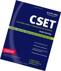 Kaplan CSET: California Subject Examination for Teachers