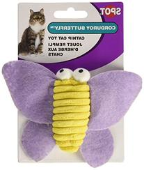 Ethical Pet Products  CSO2812 Corduroy Butterfly Catnip Toy