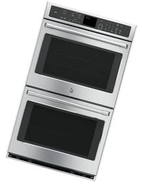 """CT9550SHSS 30"""" Double Wall Oven with 5.0 Cu. Ft. Oven"""