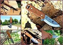 Tops Knives CUB Fixed Blade Knife,3.75in,Razor Blade,1095