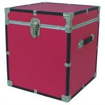 Cube Storage Locker Trunk Pink