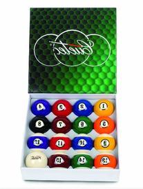 """Cuetec 2-1/4"""" Regulation Size Deluxe Billiard/Pool Balls,"""