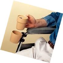 Cup and Holder for Wheelchair - Item Number 1139EA