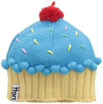 Neff Women's Cupcake Beanie Hat, Blue, One Size