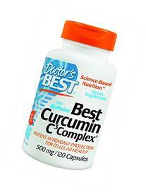 Doctor's Best Curcumin From Turmeric Root, Non-GMO, Gluten