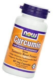 NOW Curcumin,60 Veg Capsules