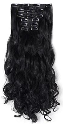 "OneDor® 20"" Curly Full Head Clip in Synthetic Hair"
