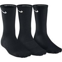 NIKE Unisex Performance Cushion Crew Training Socks , Black/