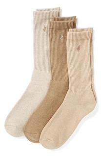 Men's Polo Ralph Lauren 3-Pack Crew Socks