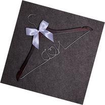 Custom Letter Wedding Hangers-Custom Personalized Bridal