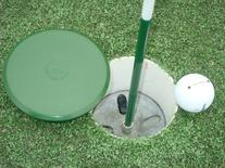 "Customizable Golf Hole Cup Cover for All Regulation 4"" & 6"""