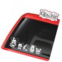 Customize-able Mickey & Minnie Cutie Family Vehicle Car
