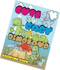 Cute Baby Dinosaur Coloring Book