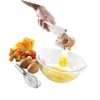 Cute Egg Cracker Seperator Kitchen Tool - WHITE by Emson
