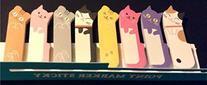 1 X 240 Sheets Cute Kitten Kitty Cat Animal Sticker Post-it