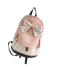 Cute Lace College Style Leisure PU leather Backpack Lovely
