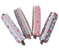 MERSUII™ Fashion Set of 4 Cute Sweety Floral Pen Pencil