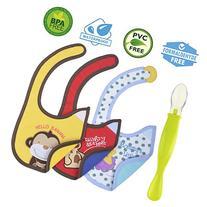 Cute Baby Waterproof Drool Bibs Pack - Best for Dribble