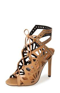 Women's Dolce Vita 'Helena' Cutout Sandal Caramel 8 M