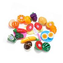 Kitchen Fun Cutting Fruits & Vegetables Food Playset for
