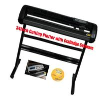 Vinyl 34inch 500g Cutting Plotter Black Color with Craftedge