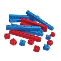 Didax Educational Resources CVC Unifix Letter Cubes