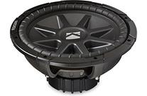 "Kicker CVR124 12"" Dual 4 ohm CompVR Series Car Subwoofer"