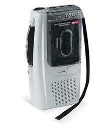 Coby CX-R122 Micro Cassette Recorder
