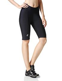 Baleaf Women's Cycling Padded Shorts Black UPF 50+ Size L