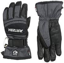 Hestra Czone Mountain Gloves, Charcoal/Black, 8