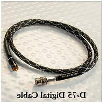 DH Labs D 750 Digital Audio Cable RCA RCA 0.5 meter by