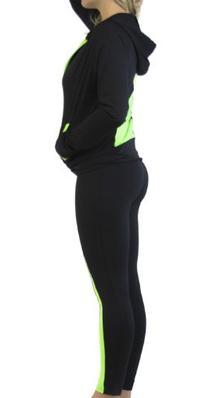 D&K Monarchy Sportswear Workout Outfit 3 Piece Set Extra