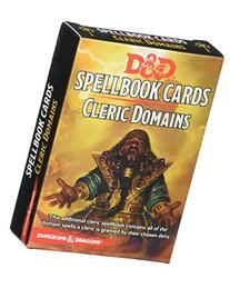 D&D Spellbook Cards Cleric Domains Card Game