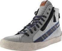 Diesel Men's D-Velows D-String Plus Mid Sneaker,Paloma/