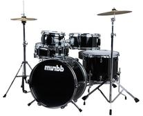 ddrum D1 JR Complete 5-piece Drum Set, Black