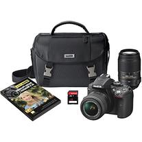 Nikon D5300 DX-Format Digital SLR Kit w/ 18-55mm VR II and