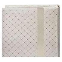 Pioneer DA200FDR Fabric Diamond Ribbon Wedding Photo Album,