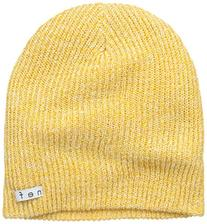 neff Men's Daily Heather Beanie, Mustard/White, One Size