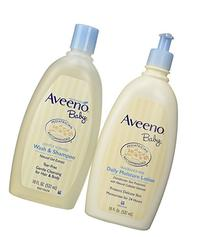 Bundle: Aveeno Baby Daily Moisture Lotion, 18 Ounce + Aveeno