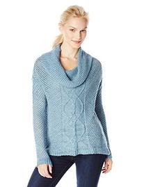 Jack by BB Dakota Women's Samwell Marled Yarn Cable Knit