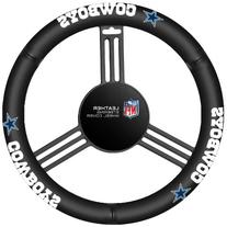 Dallas Cowboys NFL Leather Steering Wheel Cover Dallas Cowboys NFL Leather Steering Wheel Cover