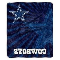 NFL Dallas Cowboys 50-Inch-by-60-Inch Sherpa on Sherpa Throw