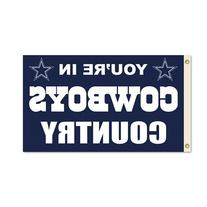 "NFL Dallas Cowboys 3-by-5 Foot ""In Country"" Flag"