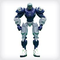 "Dallas Cowboys 10"" Team Cleatus FOX Robot NFL Football"