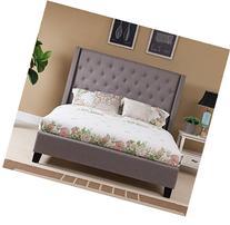 Boraam Dalton Bed Set, Queen, Charcoal